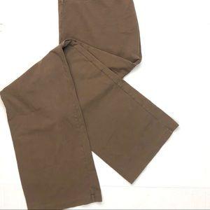 Patagonia SzL Women's Brown Yoga Cotton USA Pants